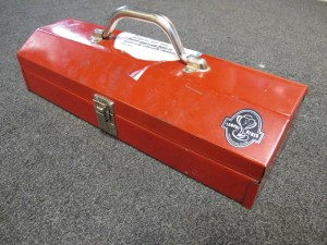 Little Red Tool Box at Trophy Bikes